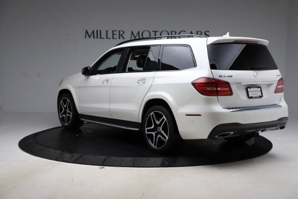 Used 2018 Mercedes-Benz GLS 550 for sale $67,900 at Rolls-Royce Motor Cars Greenwich in Greenwich CT 06830 5