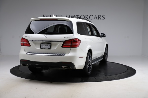 Used 2018 Mercedes-Benz GLS 550 for sale $67,900 at Rolls-Royce Motor Cars Greenwich in Greenwich CT 06830 7