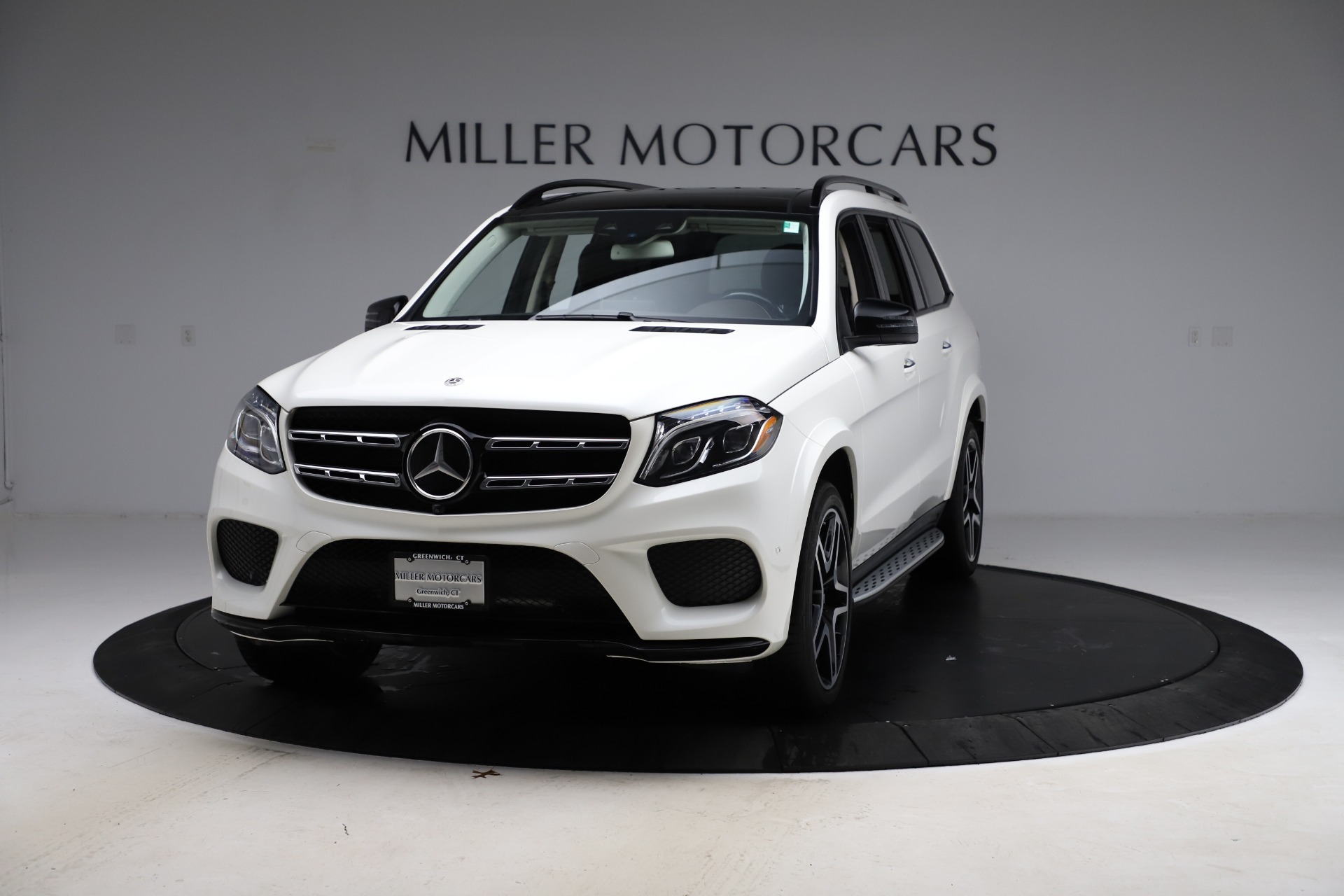 Used 2018 Mercedes-Benz GLS 550 for sale $67,900 at Rolls-Royce Motor Cars Greenwich in Greenwich CT 06830 1