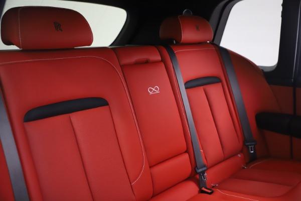 New 2021 Rolls-Royce Cullinan Black Badge for sale $431,325 at Rolls-Royce Motor Cars Greenwich in Greenwich CT 06830 18