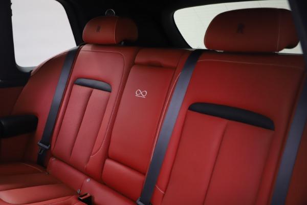 New 2021 Rolls-Royce Cullinan Black Badge for sale $431,325 at Rolls-Royce Motor Cars Greenwich in Greenwich CT 06830 19