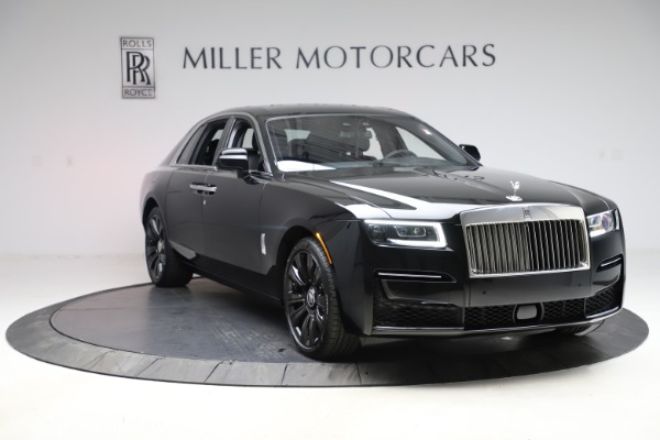 New 2021 Rolls-Royce Ghost for sale $374,150 at Rolls-Royce Motor Cars Greenwich in Greenwich CT 06830 12