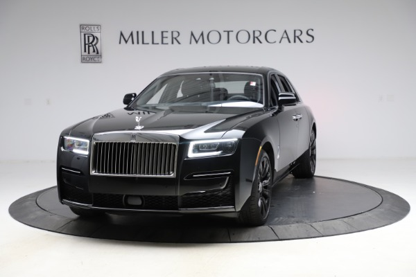 New 2021 Rolls-Royce Ghost for sale $374,150 at Rolls-Royce Motor Cars Greenwich in Greenwich CT 06830 2