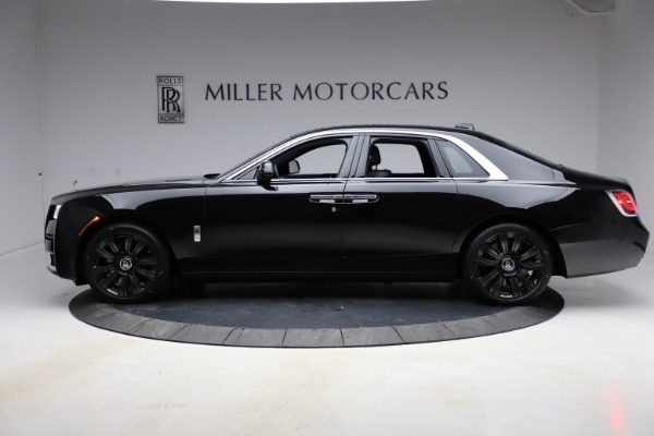 New 2021 Rolls-Royce Ghost for sale $374,150 at Rolls-Royce Motor Cars Greenwich in Greenwich CT 06830 4