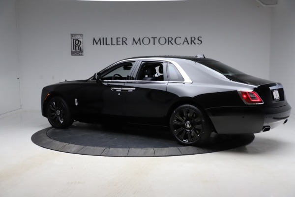 New 2021 Rolls-Royce Ghost for sale $374,150 at Rolls-Royce Motor Cars Greenwich in Greenwich CT 06830 5