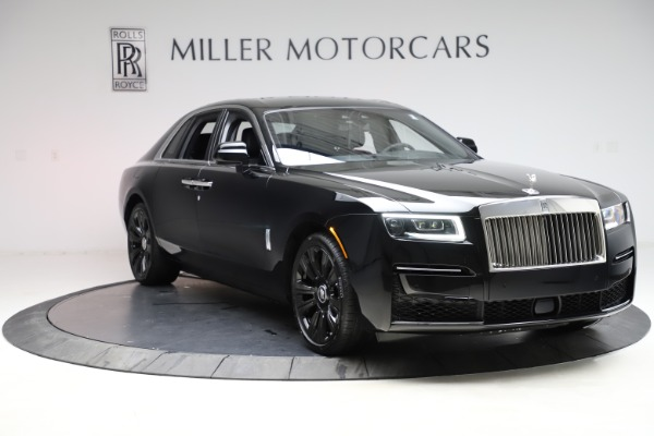 New 2021 Rolls-Royce Ghost for sale $370,650 at Rolls-Royce Motor Cars Greenwich in Greenwich CT 06830 12