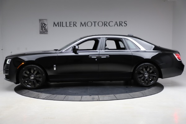 New 2021 Rolls-Royce Ghost for sale $370,650 at Rolls-Royce Motor Cars Greenwich in Greenwich CT 06830 4