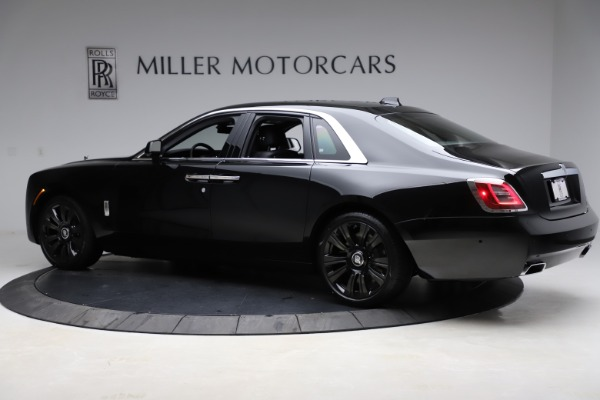 New 2021 Rolls-Royce Ghost for sale $370,650 at Rolls-Royce Motor Cars Greenwich in Greenwich CT 06830 5