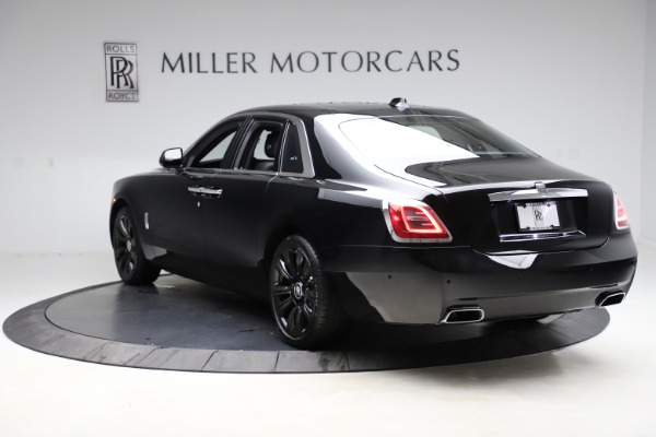 New 2021 Rolls-Royce Ghost for sale $370,650 at Rolls-Royce Motor Cars Greenwich in Greenwich CT 06830 6
