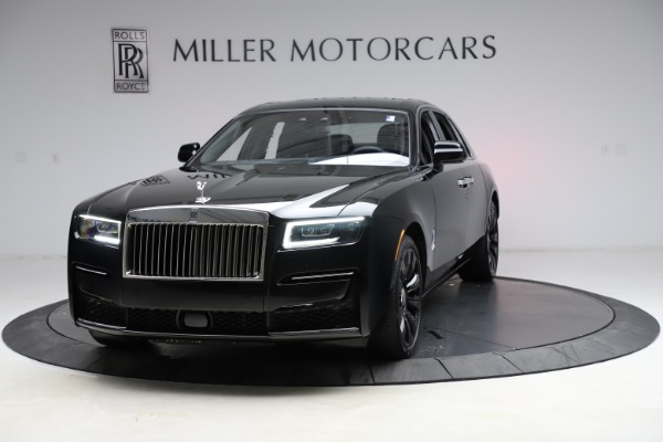 New 2021 Rolls-Royce Ghost for sale $370,650 at Rolls-Royce Motor Cars Greenwich in Greenwich CT 06830 1