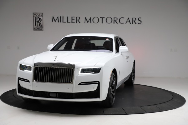 New 2021 Rolls-Royce Ghost for sale $390,400 at Rolls-Royce Motor Cars Greenwich in Greenwich CT 06830 2