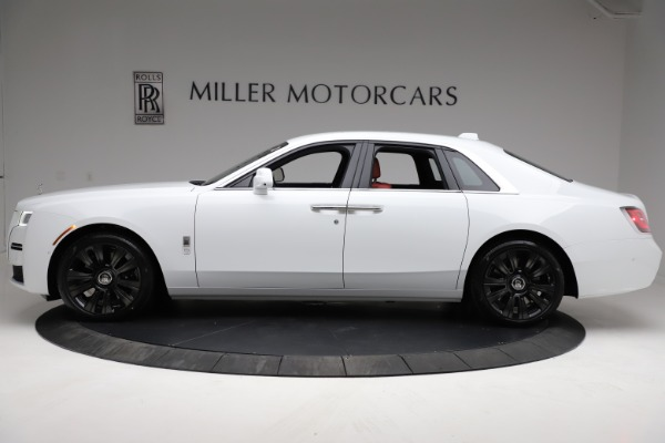 New 2021 Rolls-Royce Ghost for sale $390,400 at Rolls-Royce Motor Cars Greenwich in Greenwich CT 06830 4
