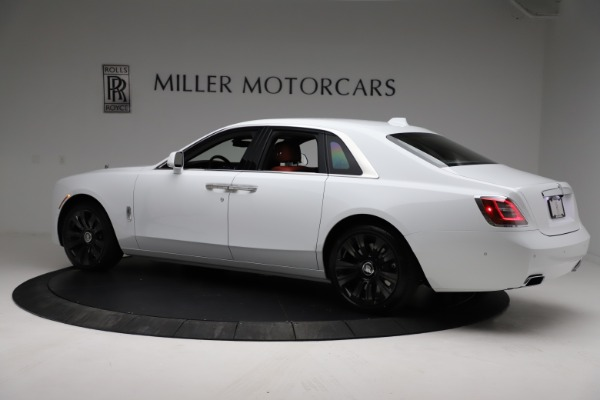 New 2021 Rolls-Royce Ghost for sale $390,400 at Rolls-Royce Motor Cars Greenwich in Greenwich CT 06830 5