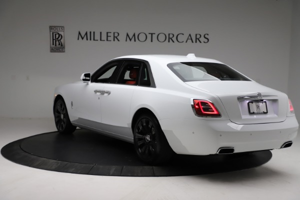 New 2021 Rolls-Royce Ghost for sale $390,400 at Rolls-Royce Motor Cars Greenwich in Greenwich CT 06830 6