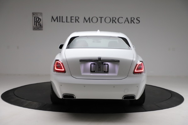 New 2021 Rolls-Royce Ghost for sale $390,400 at Rolls-Royce Motor Cars Greenwich in Greenwich CT 06830 7
