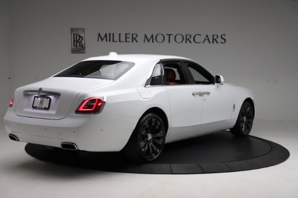 New 2021 Rolls-Royce Ghost for sale $390,400 at Rolls-Royce Motor Cars Greenwich in Greenwich CT 06830 9