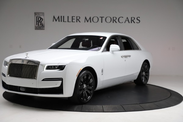 New 2021 Rolls-Royce Ghost for sale $390,400 at Rolls-Royce Motor Cars Greenwich in Greenwich CT 06830 1