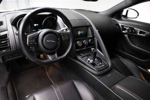 Used 2016 Jaguar F-TYPE R for sale $58,900 at Rolls-Royce Motor Cars Greenwich in Greenwich CT 06830 13