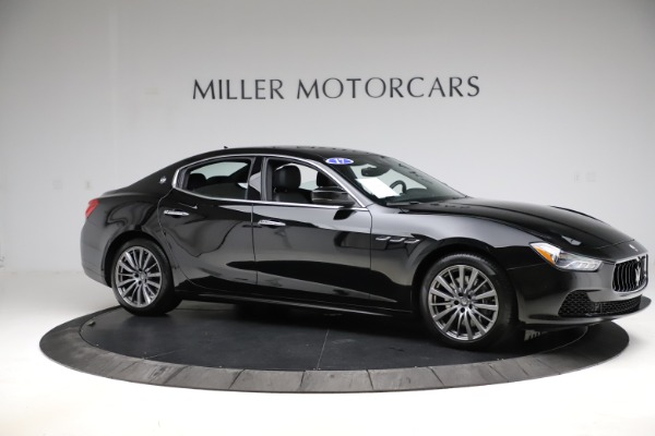 Used 2017 Maserati Ghibli S Q4 for sale $41,900 at Rolls-Royce Motor Cars Greenwich in Greenwich CT 06830 10