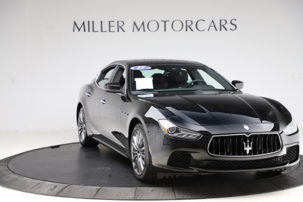Used 2017 Maserati Ghibli S Q4 for sale $41,900 at Rolls-Royce Motor Cars Greenwich in Greenwich CT 06830 11