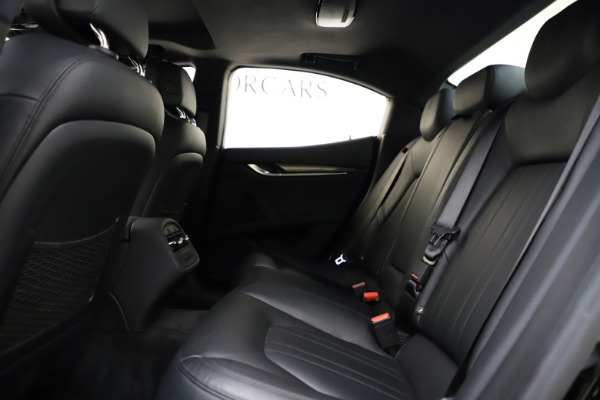 Used 2017 Maserati Ghibli S Q4 for sale $41,900 at Rolls-Royce Motor Cars Greenwich in Greenwich CT 06830 19