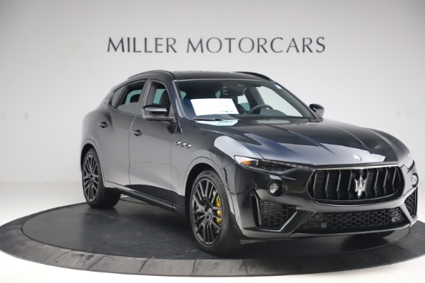New 2021 Maserati Levante S Q4 GranSport for sale $107,135 at Rolls-Royce Motor Cars Greenwich in Greenwich CT 06830 11