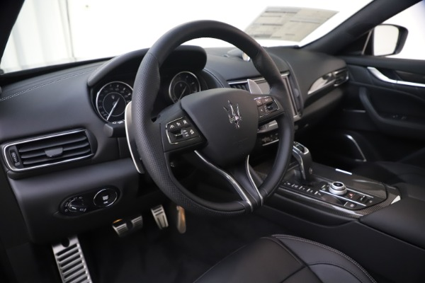 New 2021 Maserati Levante S Q4 GranSport for sale $107,135 at Rolls-Royce Motor Cars Greenwich in Greenwich CT 06830 13
