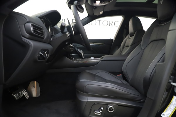 New 2021 Maserati Levante S Q4 GranSport for sale $107,135 at Rolls-Royce Motor Cars Greenwich in Greenwich CT 06830 14