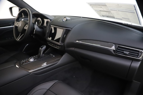 New 2021 Maserati Levante S Q4 GranSport for sale $107,135 at Rolls-Royce Motor Cars Greenwich in Greenwich CT 06830 25