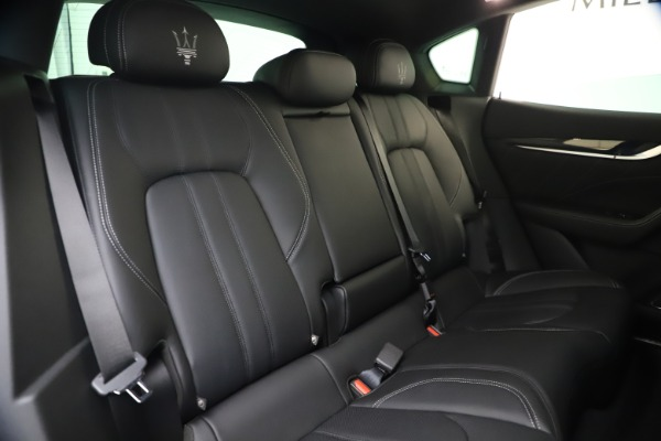 New 2021 Maserati Levante S Q4 GranSport for sale $107,135 at Rolls-Royce Motor Cars Greenwich in Greenwich CT 06830 27