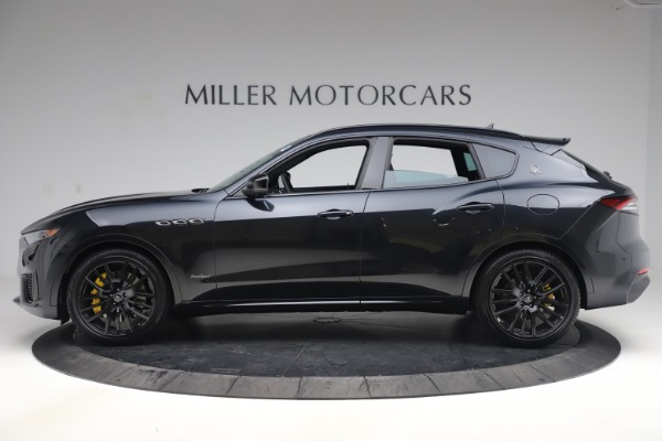 New 2021 Maserati Levante S Q4 GranSport for sale $107,135 at Rolls-Royce Motor Cars Greenwich in Greenwich CT 06830 3