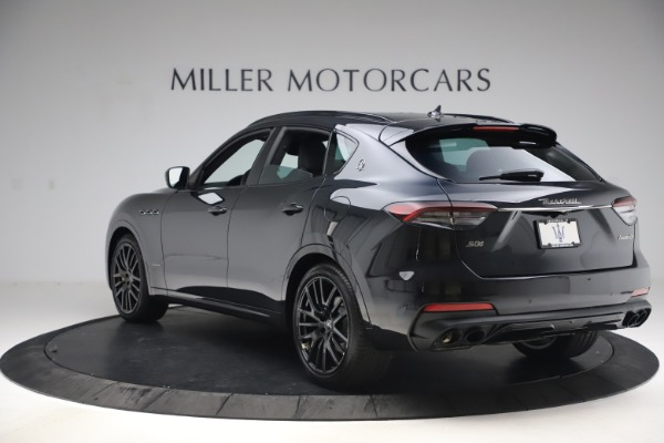 New 2021 Maserati Levante S Q4 GranSport for sale $107,135 at Rolls-Royce Motor Cars Greenwich in Greenwich CT 06830 5