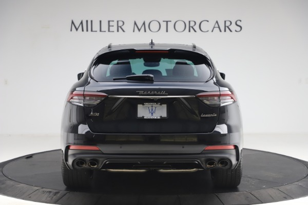 New 2021 Maserati Levante S Q4 GranSport for sale $107,135 at Rolls-Royce Motor Cars Greenwich in Greenwich CT 06830 6