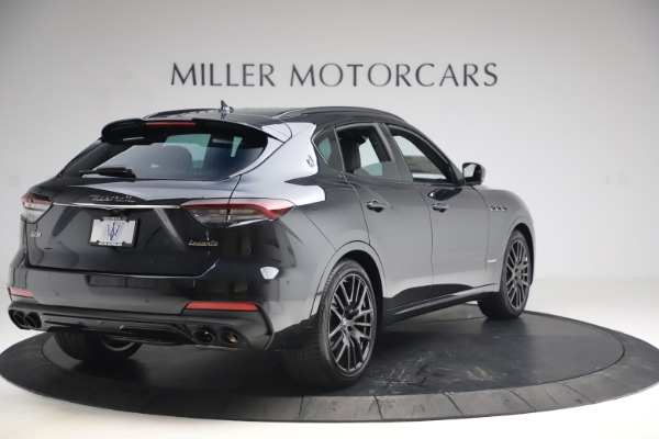 New 2021 Maserati Levante S Q4 GranSport for sale $107,135 at Rolls-Royce Motor Cars Greenwich in Greenwich CT 06830 7