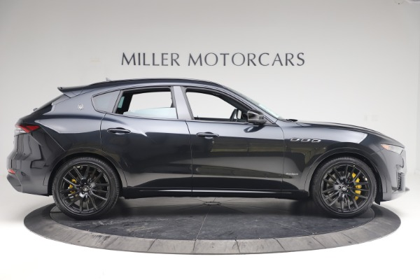 New 2021 Maserati Levante S Q4 GranSport for sale $107,135 at Rolls-Royce Motor Cars Greenwich in Greenwich CT 06830 9