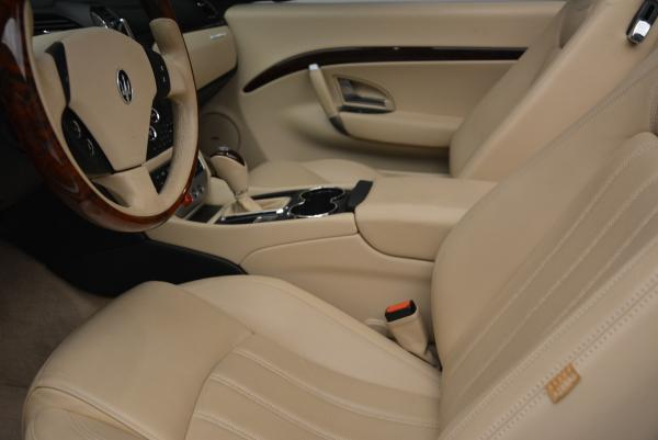 Used 2011 Maserati GranTurismo for sale Sold at Rolls-Royce Motor Cars Greenwich in Greenwich CT 06830 26
