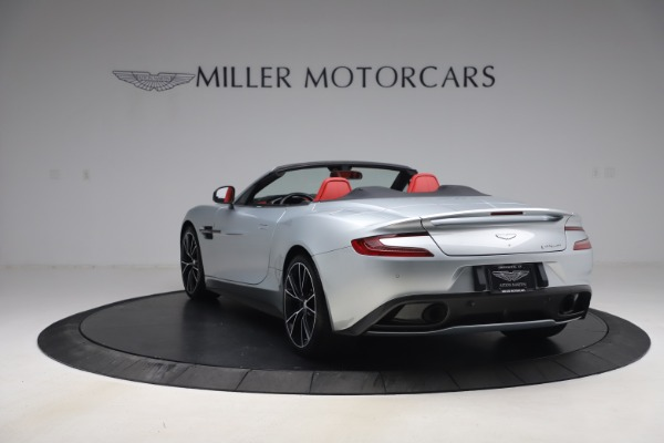 Used 2014 Aston Martin Vanquish Volante for sale $129,900 at Rolls-Royce Motor Cars Greenwich in Greenwich CT 06830 4