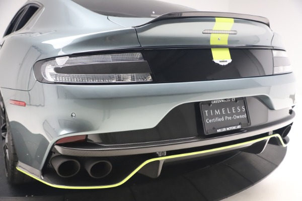 Used 2019 Aston Martin Rapide AMR Sedan for sale $187,900 at Rolls-Royce Motor Cars Greenwich in Greenwich CT 06830 26