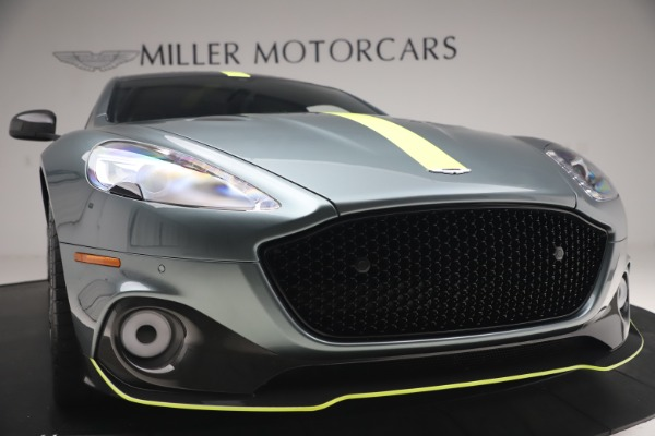 Used 2019 Aston Martin Rapide AMR Sedan for sale $187,900 at Rolls-Royce Motor Cars Greenwich in Greenwich CT 06830 27