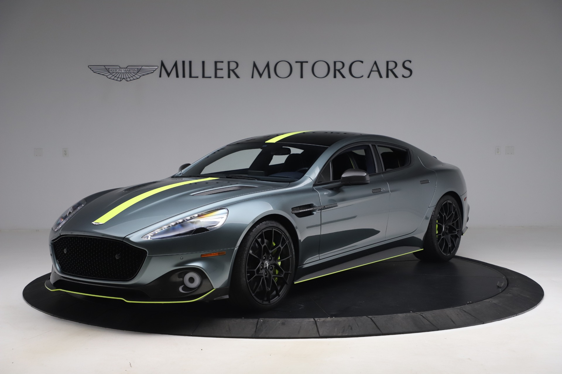 Used 2019 Aston Martin Rapide AMR for sale $187,900 at Rolls-Royce Motor Cars Greenwich in Greenwich CT 06830 1