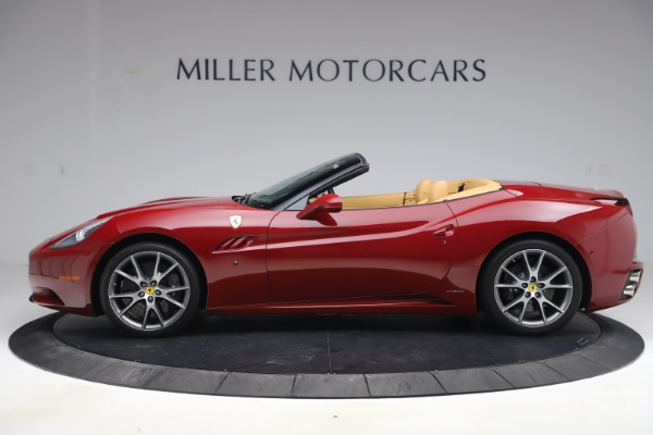 Used 2014 Ferrari California 30 for sale Sold at Rolls-Royce Motor Cars Greenwich in Greenwich CT 06830 3