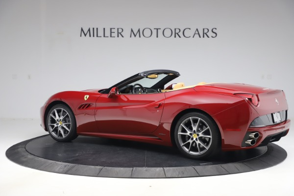 Used 2014 Ferrari California 30 for sale Sold at Rolls-Royce Motor Cars Greenwich in Greenwich CT 06830 4