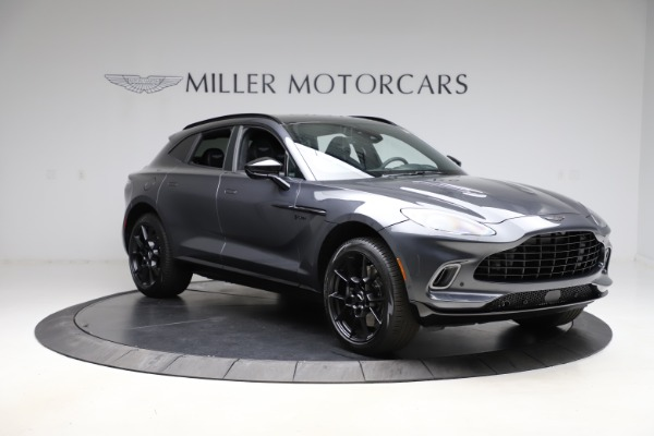 New 2021 Aston Martin DBX for sale $201,586 at Rolls-Royce Motor Cars Greenwich in Greenwich CT 06830 10
