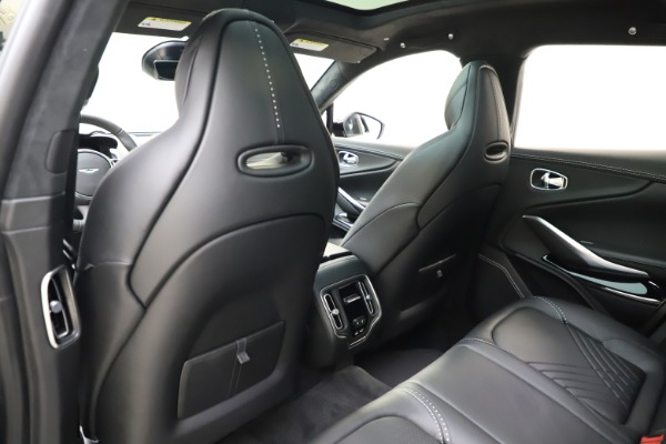 New 2021 Aston Martin DBX for sale $201,586 at Rolls-Royce Motor Cars Greenwich in Greenwich CT 06830 19