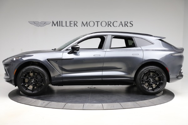 New 2021 Aston Martin DBX for sale $201,586 at Rolls-Royce Motor Cars Greenwich in Greenwich CT 06830 2