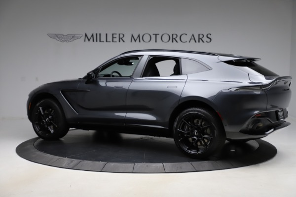 New 2021 Aston Martin DBX for sale $201,586 at Rolls-Royce Motor Cars Greenwich in Greenwich CT 06830 3