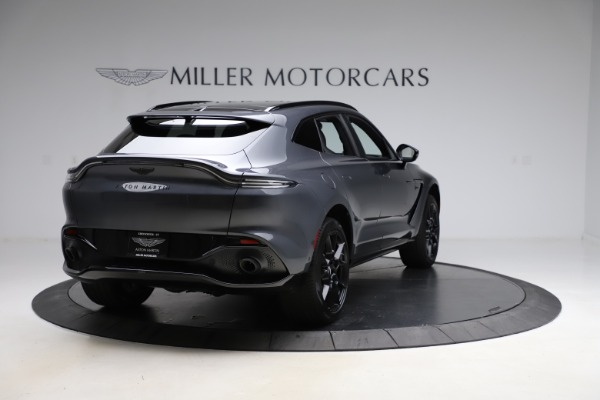New 2021 Aston Martin DBX for sale $201,586 at Rolls-Royce Motor Cars Greenwich in Greenwich CT 06830 6