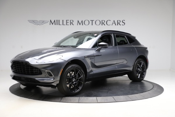 New 2021 Aston Martin DBX for sale $201,586 at Rolls-Royce Motor Cars Greenwich in Greenwich CT 06830 1