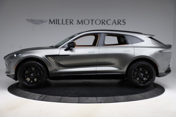 New 2021 Aston Martin DBX for sale $226,136 at Rolls-Royce Motor Cars Greenwich in Greenwich CT 06830 2
