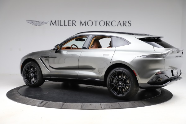 New 2021 Aston Martin DBX for sale $226,136 at Rolls-Royce Motor Cars Greenwich in Greenwich CT 06830 3